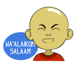 Arul si Botak sticker #8447345