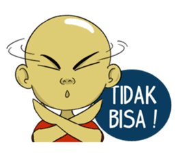 Arul si Botak sticker #8447356