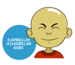 Arul si Botak sticker #8447362
