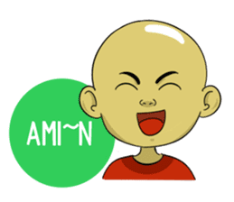 Arul si Botak sticker #8447363