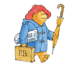 Paddington Bear (TM) Ver.1 sticker #8447999