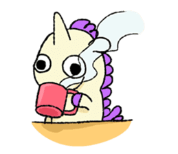 The Noisy Unicorn sticker #8451458