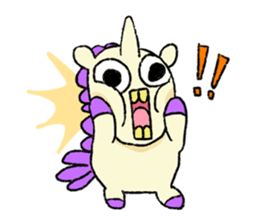 The Noisy Unicorn sticker #8451468