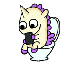The Noisy Unicorn sticker #8451469