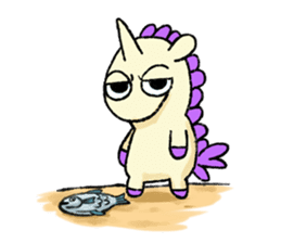 The Noisy Unicorn sticker #8451470