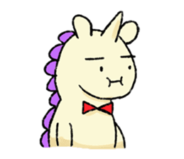 The Noisy Unicorn sticker #8451476