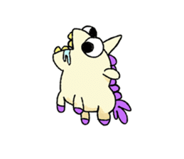 The Noisy Unicorn sticker #8451489