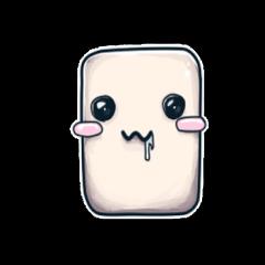 Marshmallows Love Love