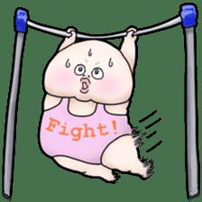 Plump plump ! Moonchi-kun 4 sticker #8470574