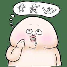 Plump plump ! Moonchi-kun 4 sticker #8470577