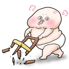 Plump plump ! Moonchi-kun 4 sticker #8470578