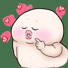Plump plump ! Moonchi-kun 4 sticker #8470590