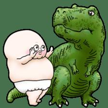 Plump plump ! Moonchi-kun 4 sticker #8470600