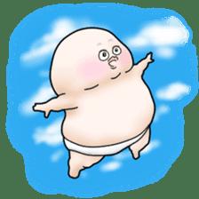 Plump plump ! Moonchi-kun 4 sticker #8470606