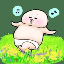 Plump plump ! Moonchi-kun 4 sticker #8470607
