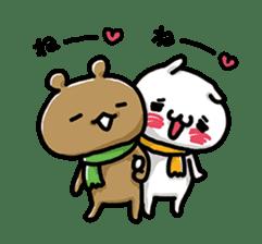 Love mode Winter sticker #8470865