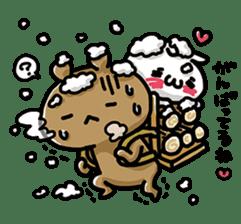 Love mode Winter sticker #8470866