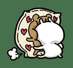 Love mode Winter sticker #8470870