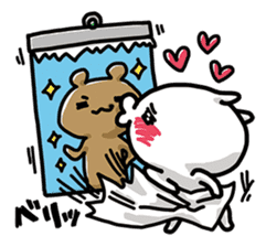 Love mode Winter sticker #8470875