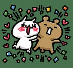Love mode Winter sticker #8470885