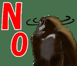 cool gorilla sticker #8472973