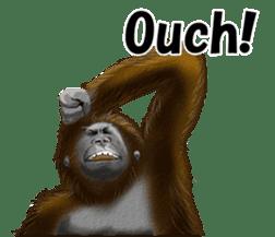 cool gorilla sticker #8472983