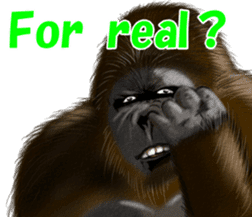 cool gorilla sticker #8472984