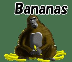 cool gorilla sticker #8472993