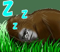 cool gorilla sticker #8472994