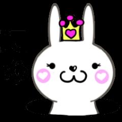 Cute rabbit princess