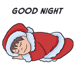 little santa clauses sticker #8476347