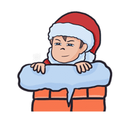 little santa clauses sticker #8476349