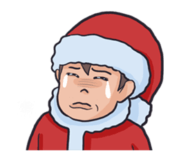little santa clauses sticker #8476359