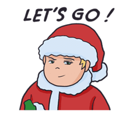 little santa clauses sticker #8476361