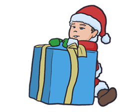 little santa clauses sticker #8476374