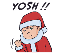 little santa clauses sticker #8476377
