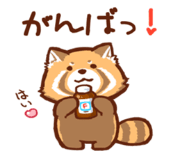Red Panda Sticker sticker #8477186