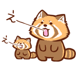 Red Panda Sticker sticker #8477190