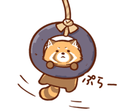 Red Panda Sticker sticker #8477197