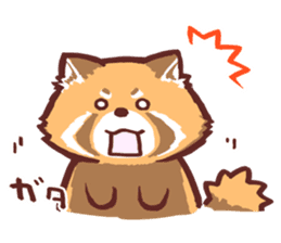 Red Panda Sticker sticker #8477199