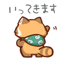 Red Panda Sticker sticker #8477219