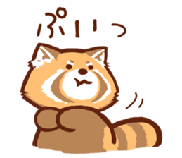 Red Panda Sticker sticker #8477222