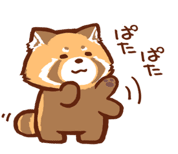 Red Panda Sticker sticker #8477225