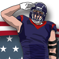AmericanFootball Sticker