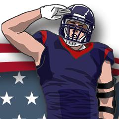 AmericanFootball Sticker