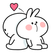 "Spoiled Rabbit ""LOVE"" sticker #8483630"