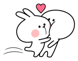 "Spoiled Rabbit ""LOVE"" sticker #8483631"