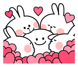 "Spoiled Rabbit ""LOVE"" sticker #8483638"