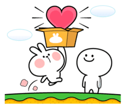 "Spoiled Rabbit ""LOVE"" sticker #8483642"
