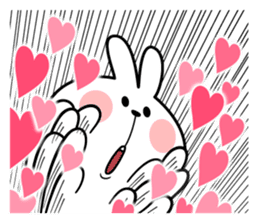 "Spoiled Rabbit ""LOVE"" sticker #8483646"